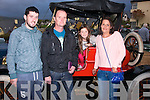 Vintage<br /> --------<br /> About to head for the Borlin valley on the way to Bantry in the Kingdom Veteran Vintage &amp;Classic Car Club annual  Autumn run based in the Kenmare bay hotel were L-R David&amp;Pat O'Mahony with Johanna&amp;Geraldine McMahon all Tralee