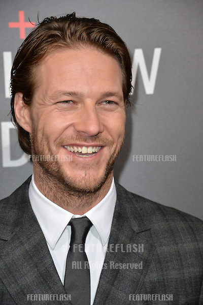 LOS ANGELES, CA. October 24, 2016: Actor Luke Bracey at the Los Angeles premiere of &quot;Hacksaw Ridge&quot; at The Academy's Samuel Goldwyn Theatre, Beverly Hills.<br /> Picture: Paul Smith/Featureflash/SilverHub 0208 004 5359/ 07711 972644 Editors@silverhubmedia.com