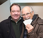 James Nederlander Jr. and Jimmy Buffett offically open up the Box Office for his Broadway Musical  'Escape To Margaritaville' at the Marquis Theatre on December 8, 2017 in New York City.