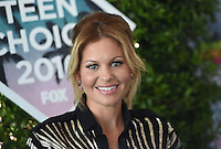 Candace Cameron Bure @ the 2016 Teen choice awards held @ the Forum.<br /> July 31, 2016
