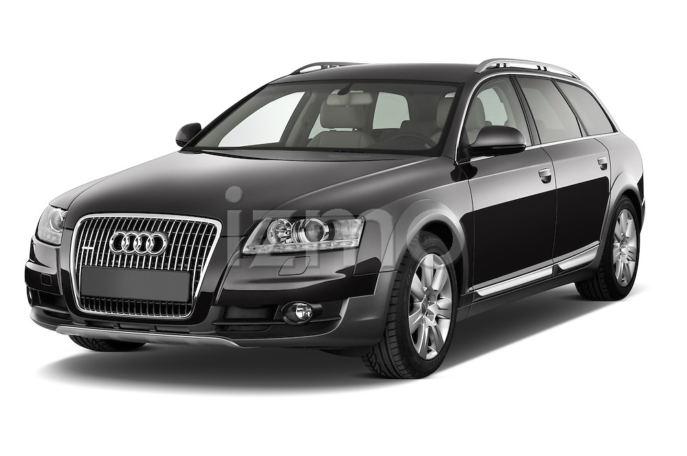 Front three quarter view of a 2006 - 2011 Audi A6 ALLROAD QUATTRO Avus 5-Door Wagon 4WD