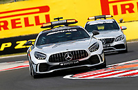 16th July 2020, Hungaroring, Budapest, Hungary; F1 Grand Prix of Hungary, drivers arrival and track inspection day;  F1 Safety Car, Mercedes-AMG GT R Budapest Hungary