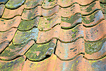 Pan tiled roof