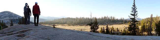 Sunrise at Sunrise Camp, Yosemite