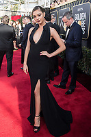 Miss Universe 2018, Demi-Leigh Nel-Peters attends the 75th Annual Golden Globes Awards at the Beverly Hilton in Beverly Hills, CA on Sunday, January 7, 2018.<br /> *Editorial Use Only*<br /> CAP/PLF/HFPA<br /> &copy;HFPA/PLF/Capital Pictures