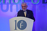 RAE Director Dario Villanueva speaks during Fundeu´s 10th Anniversary ceremony in Madrid, Spain. Month XX, 2015. (ALTERPHOTOS/Victor Blanco)