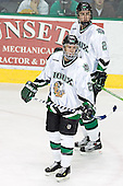 Kyle Radke, Joe Finley - The University of Minnesota Golden Gophers defeated the University of North Dakota Fighting Sioux 4-3 on Friday, December 9, 2005, at Ralph Engelstad Arena in Grand Forks, North Dakota.