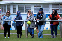 Fans watch the Wanganui v Bay Of Plenty spell of the Game of Three Halves pre-season rugby match at Taihape Domain in Taihape, New Zealand on Friday, 27 July 2018. Photo: Dave Lintott / lintottphoto.co.nz