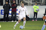 08 November 2013: Florida State's Isabella Schmid (GER). The Florida State University Seminoles played the University of North Carolina Tar Heels at WakeMed Stadium in Cary, North Carolina in a 2013 NCAA Division I Women's Soccer match and the semifinals of the Atlantic Coast Conference tournament. Florida State won the game 2-1 in overtime.