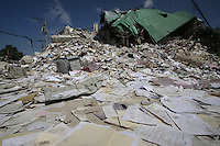 The remains of the interior ministry in Port au Prince, Haiti, Jan. 26, 2010. (Australfoto/Douglas Engle)