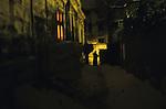 Roma ghetto, Bucharest, Romania Winter 2004