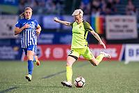 Boston, MA - Saturday April 29, 2017: Megan Rapinoe during a regular season National Women's Soccer League (NWSL) match between the Boston Breakers and Seattle Reign FC at Jordan Field.