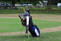 Chris Selfridge (NIR) bag on the practice green during Pro-Am of the Bridgestone Challenge 2017 at the Luton Hoo Hotel Golf &amp; Spa, Luton, Bedfordshire, England. 06/09/2017<br /> Picture: Golffile | Thos Caffrey<br /> <br /> <br /> All photo usage must carry mandatory copyright credit (&copy; Golffile | Thos Caffrey)