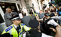 Pakistani cricketers arrive at the Pakistan High Commission in London today..Salman Butt, Mohammed Amir, and Mohammed Asif....Picture by Gavin Rodgers/ Pixel 07917221968