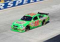 Sept. 19, 2008; Dover, DE, USA; Nascar Sprint Cup Series driver Kyle Busch during practice for the Camping World RV 400 at Dover International Speedway. Mandatory Credit: Mark J. Rebilas-