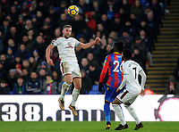 Burnley's Charlie Taylor<br /> <br /> Photographer Ashley Crowden/CameraSport<br /> <br /> The Premier League - Crystal Palace v Burnley - Saturday 13th January 2018 - Selhurst Park - London<br /> <br /> World Copyright &copy; 2018 CameraSport. All rights reserved. 43 Linden Ave. Countesthorpe. Leicester. England. LE8 5PG - Tel: +44 (0) 116 277 4147 - admin@camerasport.com - www.camerasport.com