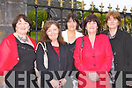 Kathleen Murphy Kanturk, Betty Tracey Castleisland, Margaret martin killarney, Pat Brosnan and Noreen Barrett Castleisland recounting memories at the Pretty Polly reunion in the Malton on Sunday