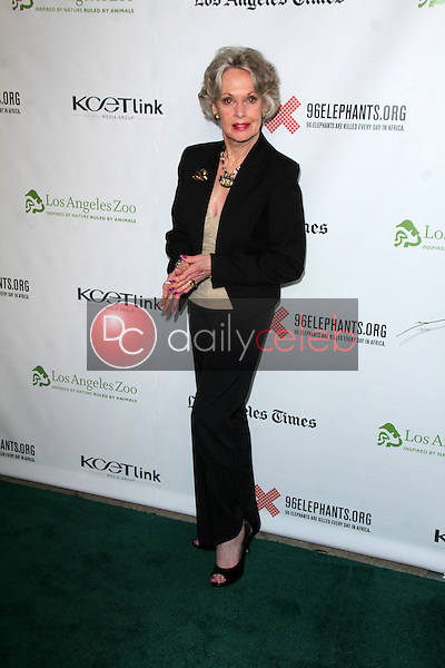 """Tippi Hedren<br /> at the Green Carpet World Premiere and Panel Discussion of """"Illicit Ivory,"""" Los Angeles Zoo Witherbee Auditorium, Los Angeles, CA 05-26-15<br /> David Edwards/DailyCeleb.Com 818-249-4998"""