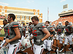 Oklahoma State Cowboys linebacker Caleb Lavey (45) in action during the game between the Louisiana-Lafayette Ragin Cajuns and the Oklahoma State Cowboys at the Boone Pickens Stadium in Stillwater, OK. Oklahoma State defeats Louisiana-Lafayette 61 to 34.