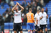 Bolton Wanderers' Andrew Taylor at the end of the match<br /> <br /> Photographer Rachel Holborn/CameraSport<br /> <br /> The EFL Sky Bet Championship - Bolton Wanderers v Leeds United - Sunday 6th August 2017 - Macron Stadium - Bolton<br /> <br /> World Copyright &copy; 2017 CameraSport. All rights reserved. 43 Linden Ave. Countesthorpe. Leicester. England. LE8 5PG - Tel: +44 (0) 116 277 4147 - admin@camerasport.com - www.camerasport.com