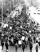 4.1.79 Memorial March for 9 women of color murdered in Boston Massahcusetts