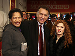 """Allyson Tucker, Brian Stokes Mitchell and Bernadette Peters attends the Broadway Opening Night Performance of """"To Kill A Mockingbird"""" on December 13, 2018 at The Shubert Theatre in New York City."""