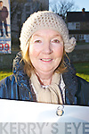 Margaret Dennehy, Ballylongford, at an Anti Abortion protest at Manor on Wednesday..