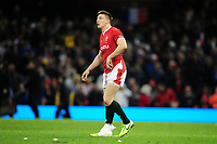 Josh Adams of Wales during the Guinness Six Nations Championship Round 3 match between Wales and France at the Principality Stadium in Cardiff, Wales, UK. Saturday 22 February 2020
