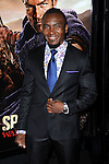 "Blessing Mokgohloa at the LA Premiere of ""Spartagus War Of The Damned"" held at Regal Cinemas L.A. LIVE January 22, 2013"