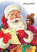 Isabella, CHRISTMAS SANTA, SNOWMAN, paintings(ITKE532287,#X#)