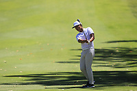 Rak Hyun Cho (KOR) in action on the 10th during Round 3 of the ISPS Handa World Super 6 Perth at Lake Karrinyup Country Club on the Saturday 10th February 2018.<br /> Picture:  Thos Caffrey / www.golffile.ie<br /> <br /> All photo usage must carry mandatory copyright credit (&copy; Golffile | Thos Caffrey)
