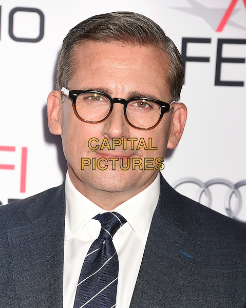 HOLLYWOOD, CA - NOVEMBER 12: Actor Steve Carell arrives at the AFI FEST 2015 Presented By Audi Closing Night Gala Premiere of Paramount Pictures' 'The Big Short' at TCL Chinese 6 Theatres on November 12, 2015 in Hollywood, California.<br /> <br /> CAP/ROT/TM<br /> &copy;TM/ROT/Capital Pictures