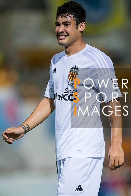 Vinicius Araujo of Valencia CF reacts during LFP World Challenge 2014 between Valencia CF vs BC Rangers FC on May 28, 2014 at the Mongkok Stadium in Hong Kong, China. Photo by Victor Fraile / Power Sport Images