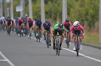 Dylan Kennett (New Zealand/St George Continental Cycling) holds off Jensen Plowright (Australia/Team BridgeLane) to win the last sprint. Stage five of the NZ Cycle Classic UCI Oceania Tour (Masterton Circuit) in Wairarapa, New Zealand on Sunday, 19 January 2020. Photo: Dave Lintott / lintottphoto.co.nz