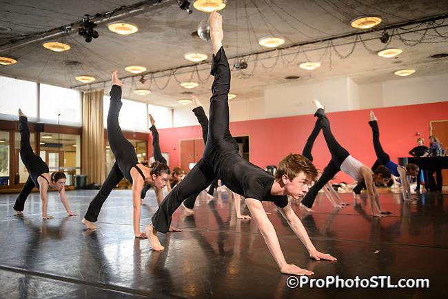 COCA dance classes promo shots