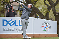Brian Harman (USA) watches his tee shot on 1 during day 3 of the World Golf Championships, Dell Match Play, Austin Country Club, Austin, Texas. 3/23/2018.<br /> Picture: Golffile | Ken Murray<br /> <br /> <br /> All photo usage must carry mandatory copyright credit (&copy; Golffile | Ken Murray)