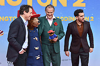 www.acepixs.com<br /> <br /> November 12 2017, Berlin<br /> <br /> (L-R) Hugh Grant, Hugh Bonneville and Elyas M' Barek arriving at the 'Paddington 2' premiere at Zoo Palast on November 12, 2017 in Berlin, Germany. <br /> <br /> By Line: Famous/ACE Pictures<br /> <br /> <br /> ACE Pictures Inc<br /> Tel: 6467670430<br /> Email: info@acepixs.com<br /> www.acepixs.com