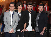 Union J arriving for the I Can't Sing Press Night, at the Paladium, London. 26/03/2014 Picture by: Alexandra Glen / Featureflash