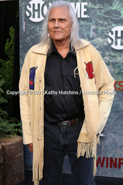 """LOS ANGELES - MAY 19:  Michael Horse at the """"Twin Peaks"""" Premiere Screening at The Theater at Ace Hotel on May 19, 2017 in Los Angeles, CA"""