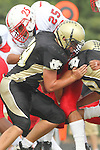 Palos Verdes, CA 09/30/11 - Tommy Webster (Peninsula #49) in action during the Lawndale-Peninsula Varsity football game.