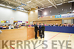 The count underway at the Kerry General Election Count centre in Killarney.