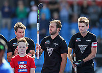 Nic Woods. Pro League Hockey, Vantage Blacksticks v Great Britain. Nga Puna Wai Hockey Stadium, Christchurch, New Zealand. Friday 8th February 2019. Photo: Simon Watts/Hockey NZ