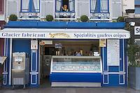 "Europe/France/Basse-Normandie/14/Calvados/Honfleur: Glacier ""Pom'Canelle"" 60 quai Sainte Catherine"