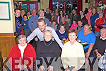 Three of the five Jackpot winners of EUR500 at the Bonna?in Bui? Bingo Nights held every Wednesday were front l-r; Ann Fitzgerald, Maureen Griffin, Kitty O'Connell, back; Darren McCann(Proprietor) along the Wednesday night Bingo hopefuls.