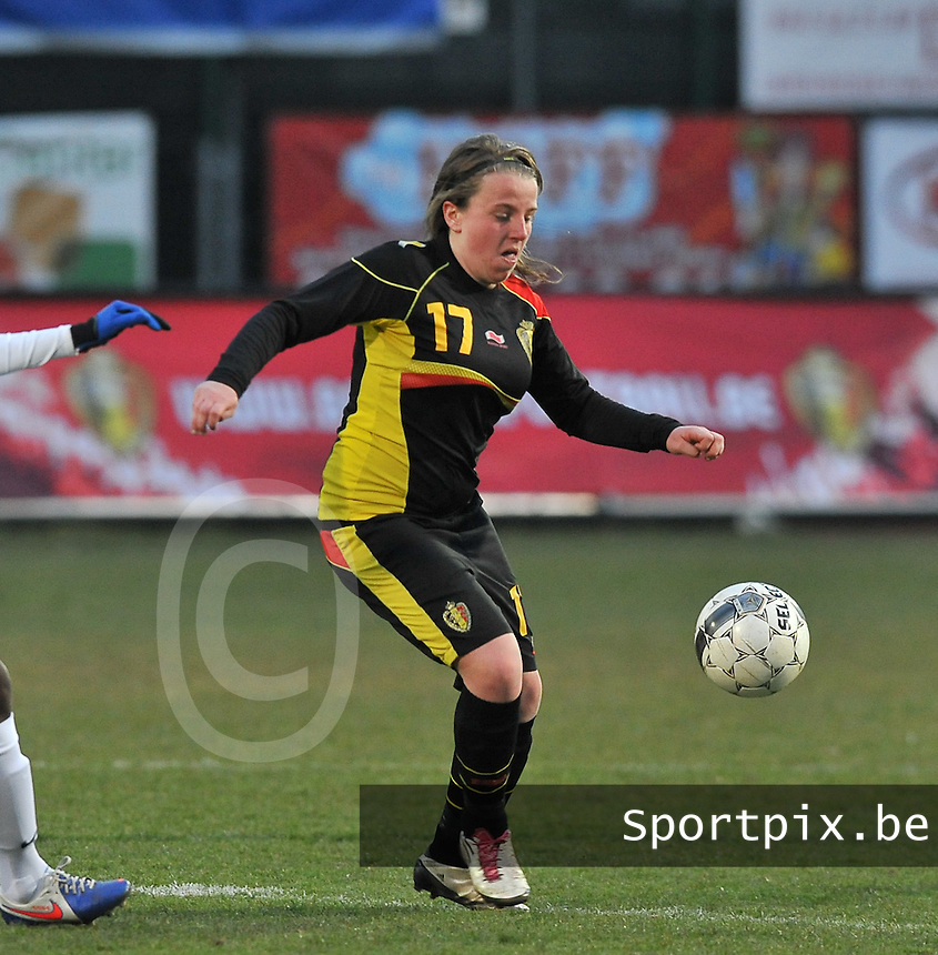 France U19 - Belgium U19 : Lucinda Michez.foto DAVID CATRY / Nikonpro.be