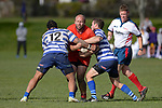 NELSON, NEW ZEALAND - AUGUST 2: Division 2 Rugby Final - Stoke v Riwaka at Greenmeadow, Stoke. 3 August 2019 in Nelson, New Zealand.  (Photos by Barry Whitnall/Shuttersport Limited)
