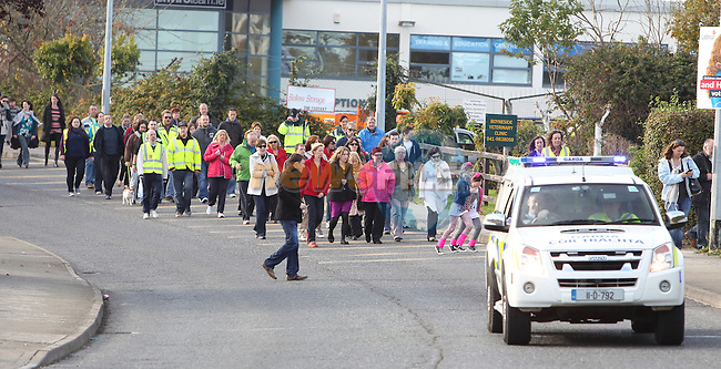 Walk for Jill Meagher.Picture: Fran Caffrey/www.newsfile.ie.