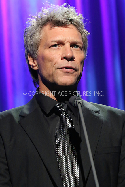 www.acepixs.com<br /> <br /> September 19 2016, New York City<br /> <br /> Jon Bon Jovi at the 10th Annual Clinton Global Citizen Awards at the Sheraton Hotel on September 19, 2016 in New York City.<br /> <br /> By Line: Nancy Rivera/ACE Pictures<br /> <br /> <br /> ACE Pictures Inc<br /> Tel: 6467670430<br /> Email: info@acepixs.com<br /> www.acepixs.com