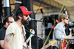 Russell Pollard of Everest performs at the 2012 Forecastle Festival in Louisville, Kentucky.