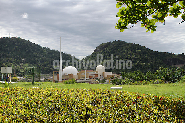 View of the Angra Nuclear Power Plant. Angra 1 and Angra 2Angra dos Reis is the main nuclear enterprise of Brazil, now building in the spot a third plant, Angra 3, to make it the largest nuclear complex of Latin America